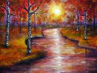 Picture of A Touch of Autumn