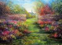 Picture of An English Garden